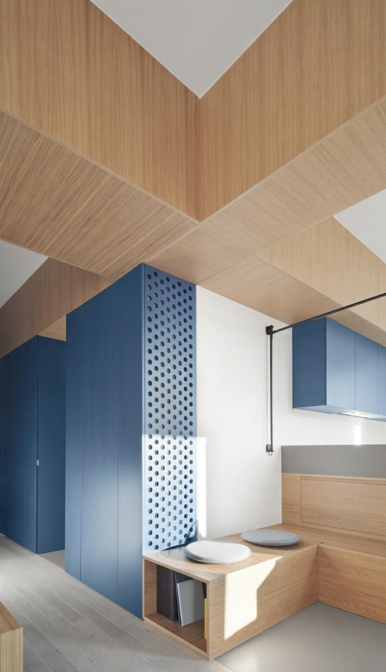 Die Verwendung von Holzbohlen in der Innenarchitektur   Haus