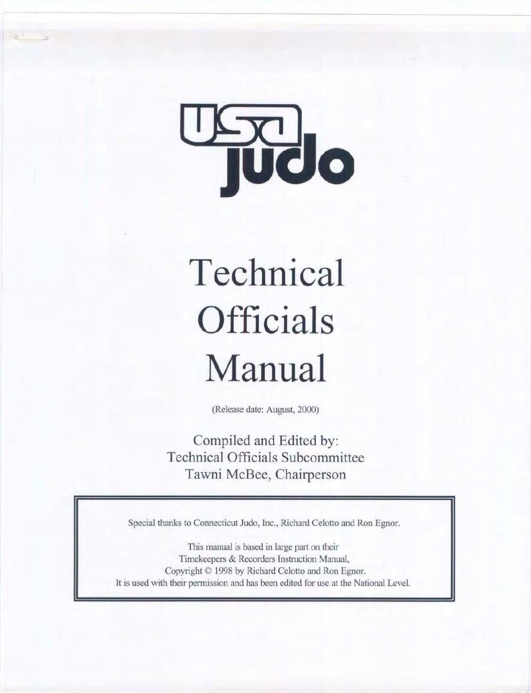 Judo manual judo martial arts array usa judo technical officials manual usa judo and judo rh pinterest com fandeluxe Images
