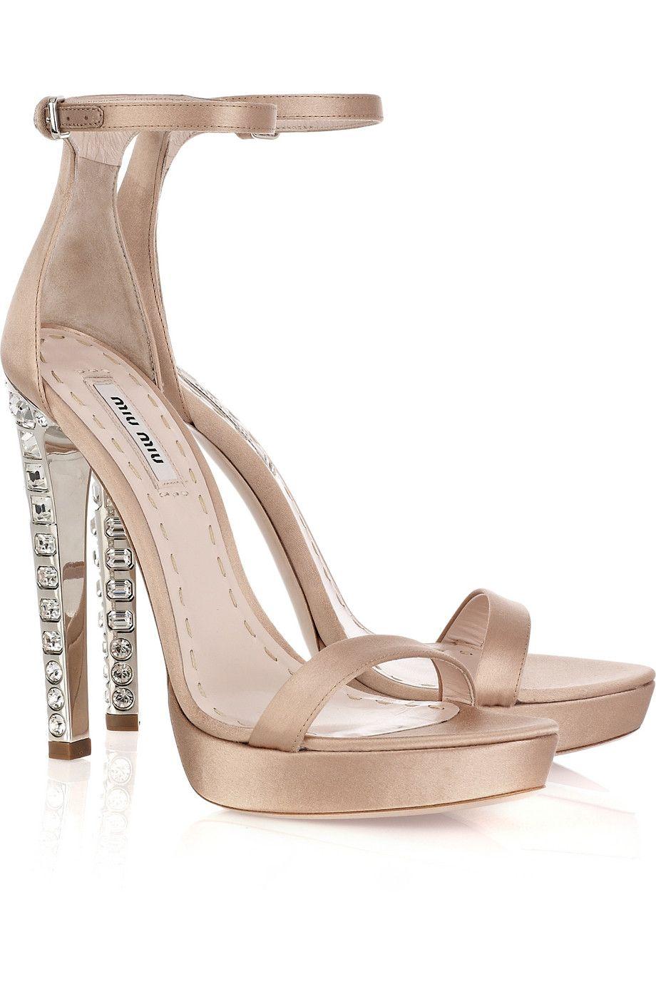Glitter Heeled Two Part Sandals SheIn Sheinside SQWRZK4RS