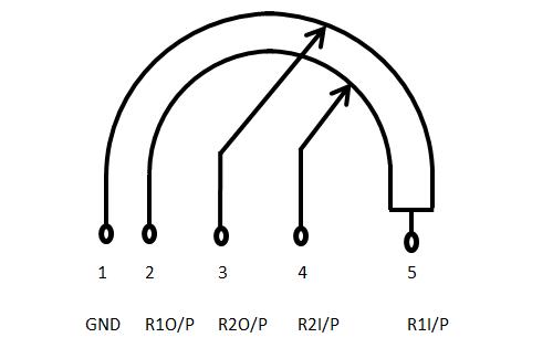 Thumbwheel Potentiometer Pinout | Pin Diagrams | Diagram