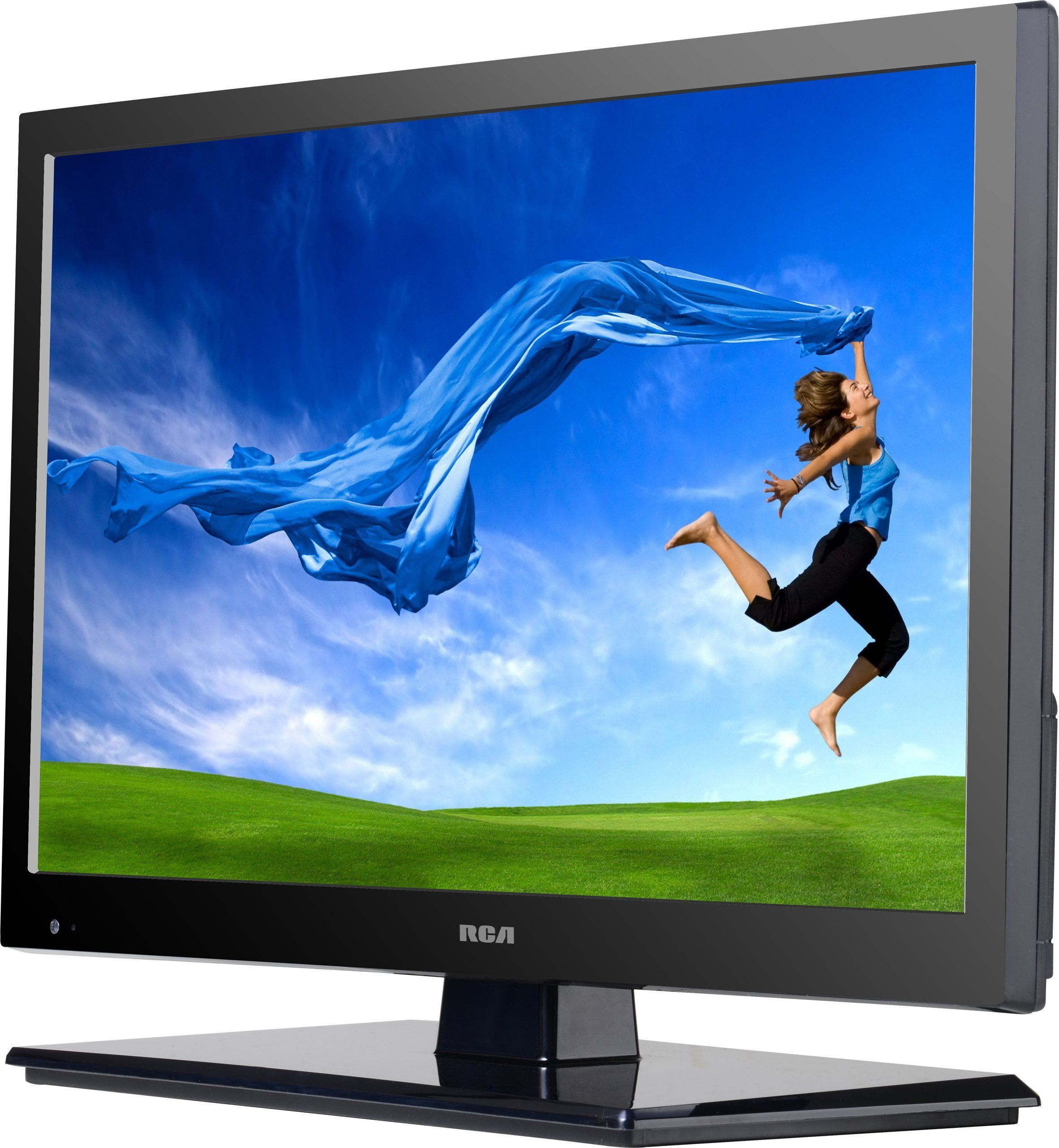 Rca Decg22dr 22 Inch Class Led Full Hdtv Ac Dc Power Dvd Combo Monitor With Display
