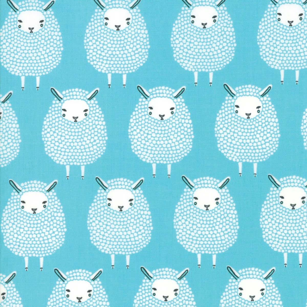 Let Them Be Little 53 Panel Black Riley Blake Cotton Fabric