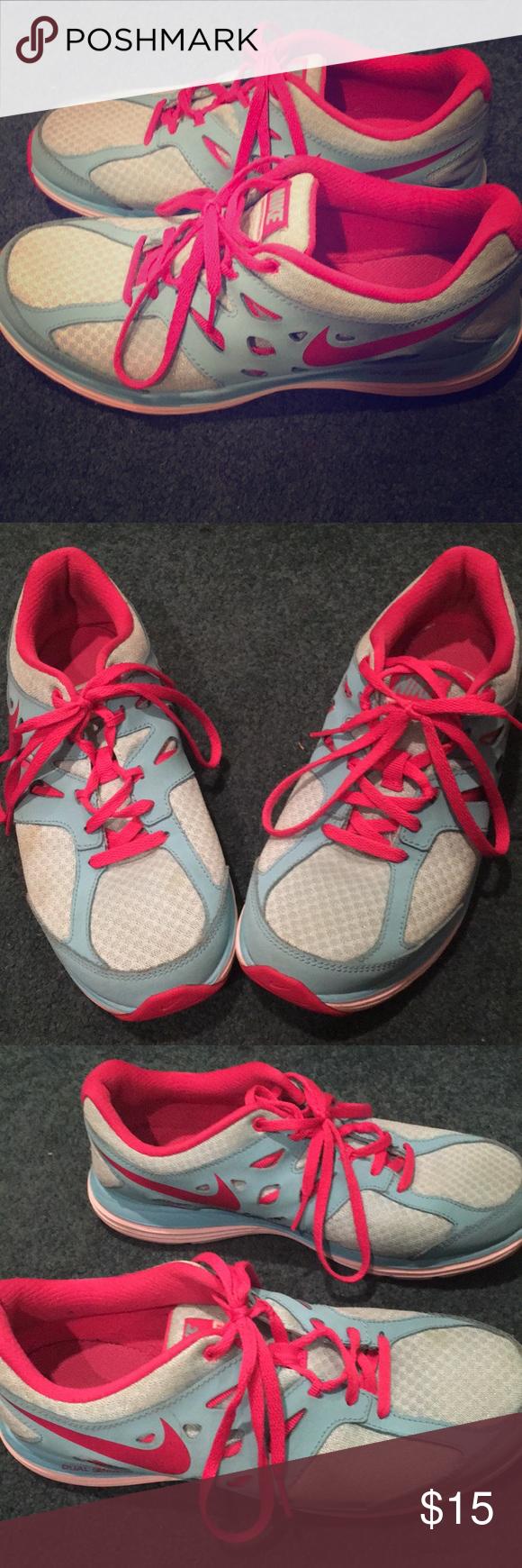 Nike Dual Fusion Running Sneakers kids 6 women's 7 I ...
