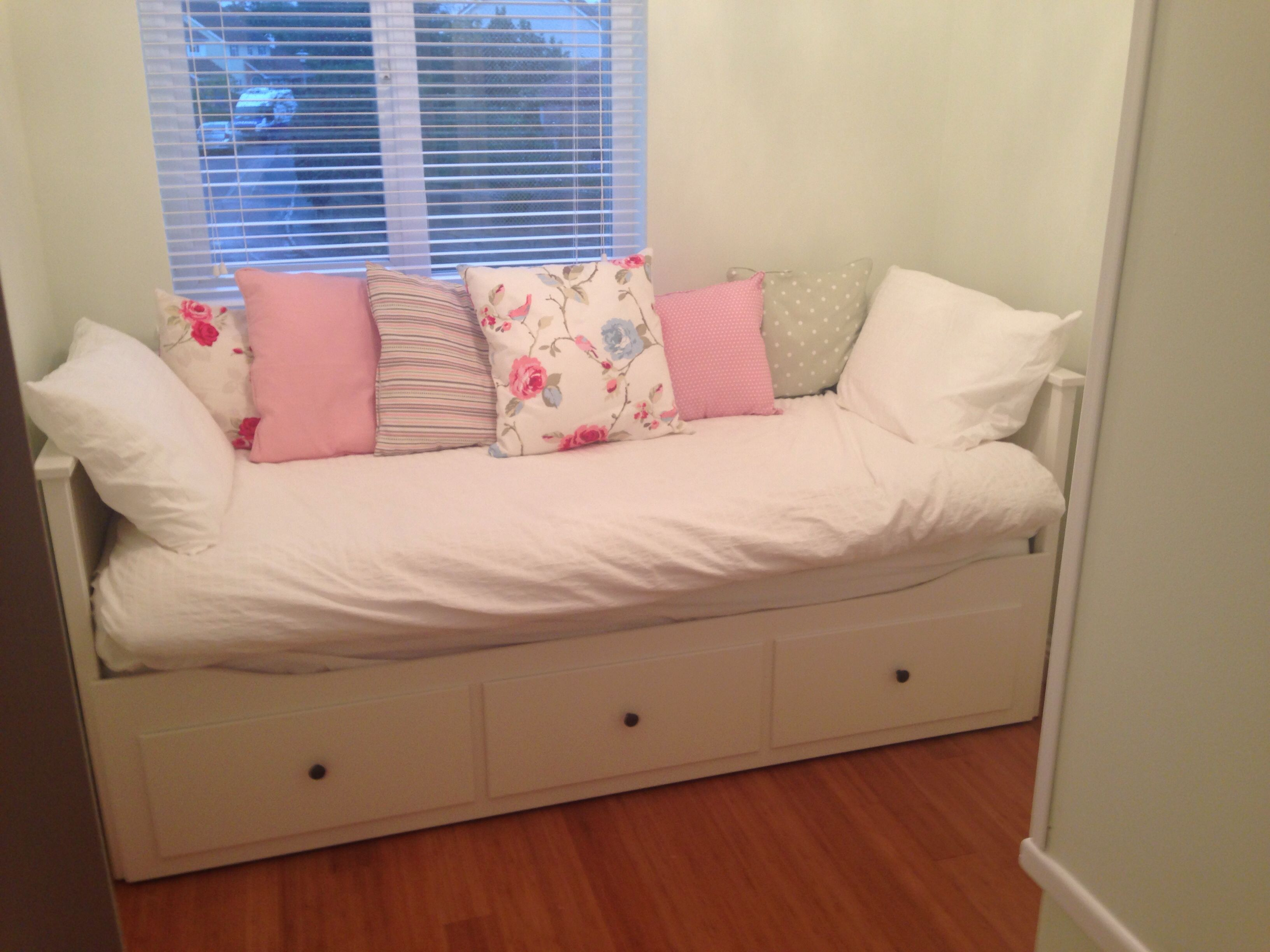 Small Beds For Box Rooms Ikea Hemnes Day Bed Now In Our Small Box Room Come Snug