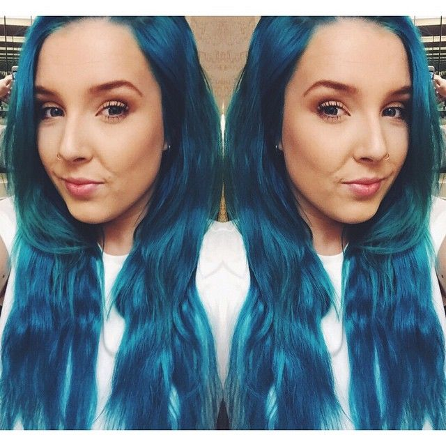 Manic Panic Looks Like A Mix Of Atomic Turquoise Or Siren Song