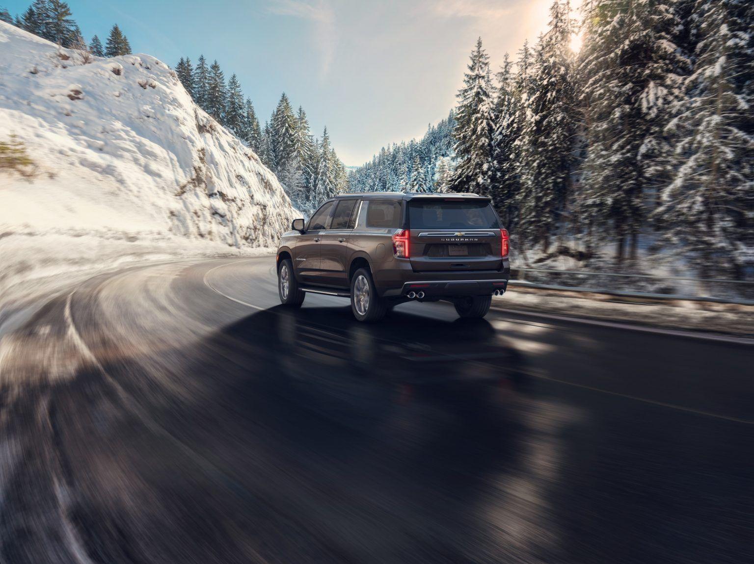 2021 Chevrolet Suburban High Country 002 Chevrolet Suburban