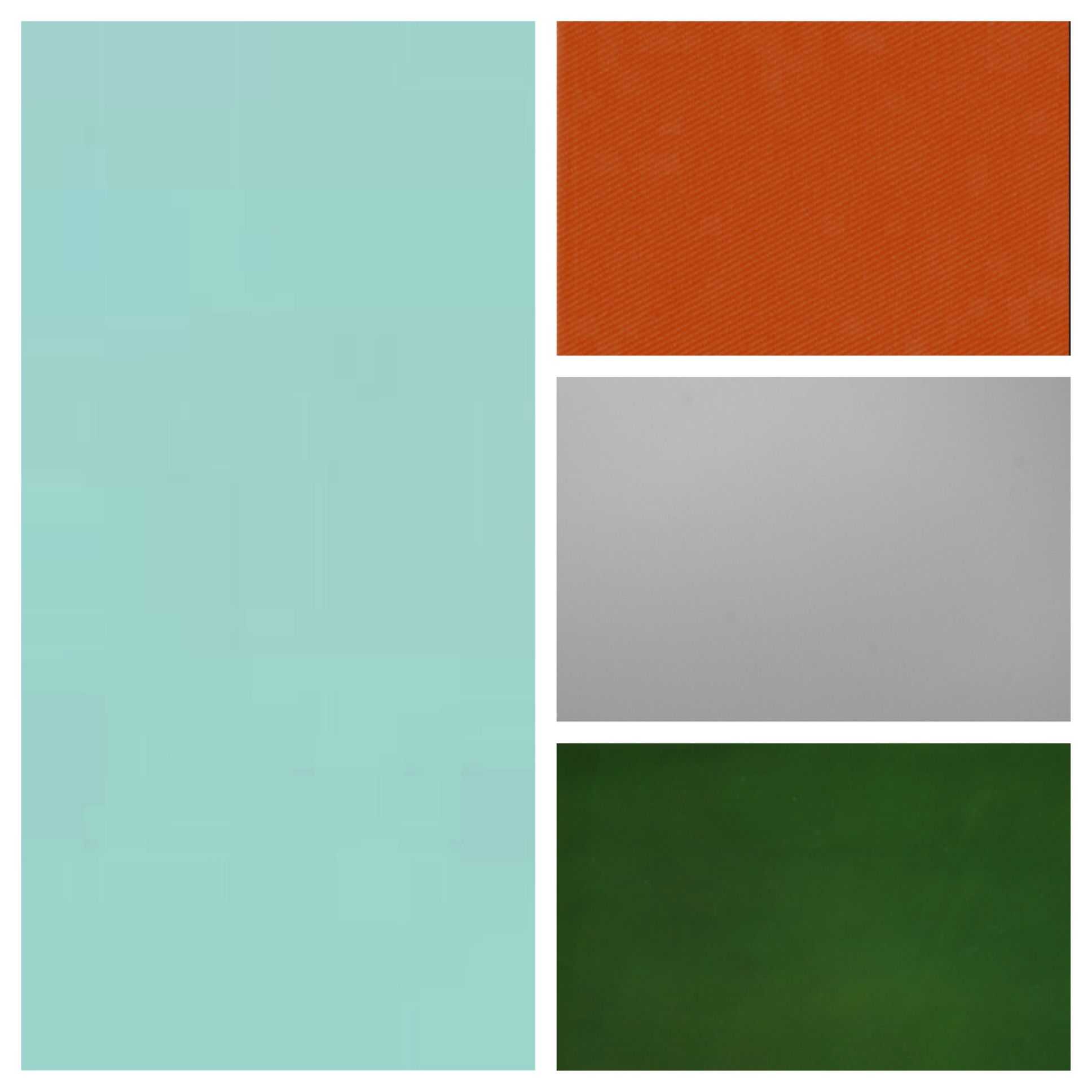 Burnt Orange Accent Wall: Kinda The Color Palette I'm Going For- Turquoise Walls