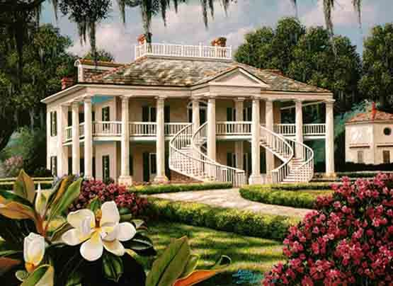 French Inspired Southern Homes