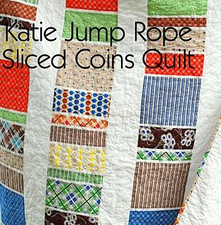 KJR Sliced Coins Quilt