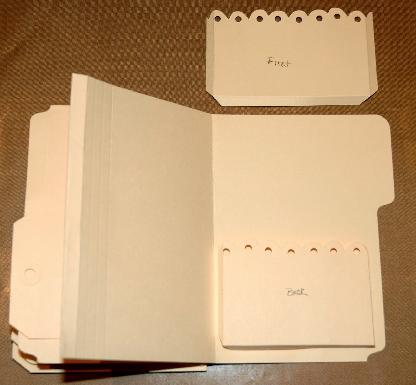 Mini Album From Manilla Folders Genuis CREATIVITY IS CONTAGIOUS A VINTAGE MINI ALBUM FILLED WITH WORDS