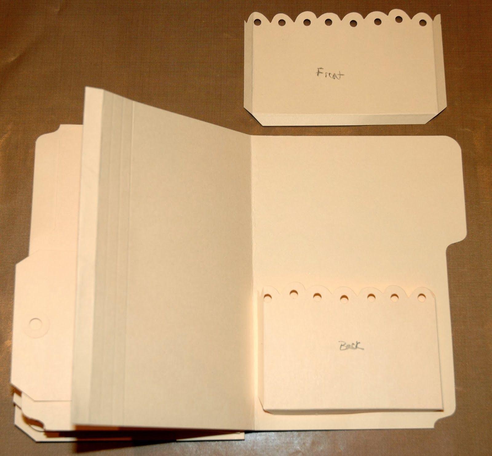 mini album from manilla folders ... genuis! CREATIVITY IS ...