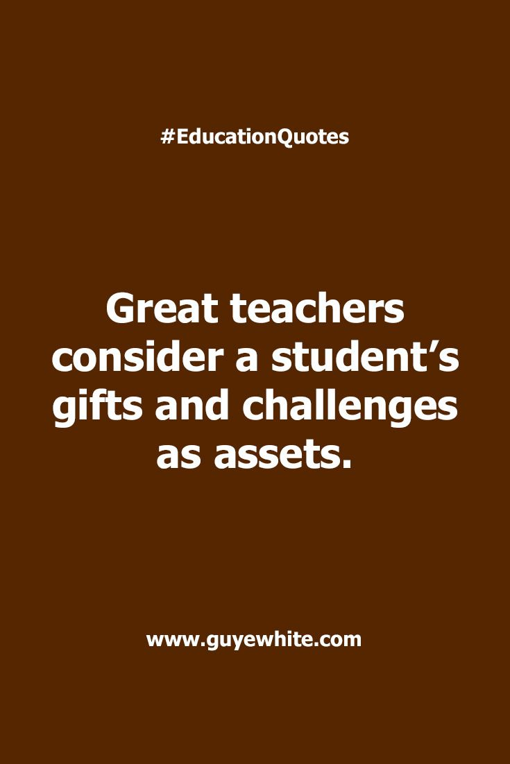 Many of your students have lots of assets.