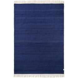 Photo of benuta Naturals Wollteppich Mala Blau 170×240 cm – Naturfaserteppich aus Wolle benuta