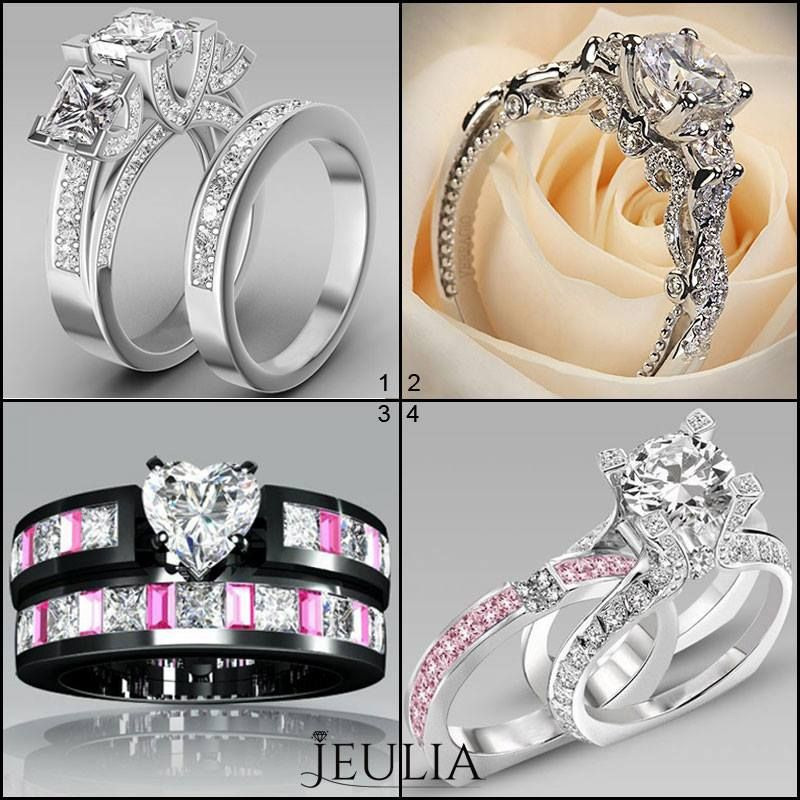 Amazing Cheap princess cushion cut diamond engagement rings rose gold engagement rings and three stone engagement rings sale online
