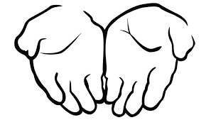 Helping Hands Clipart Black And White Google Search Hand Clipart Open Hands Clip Art