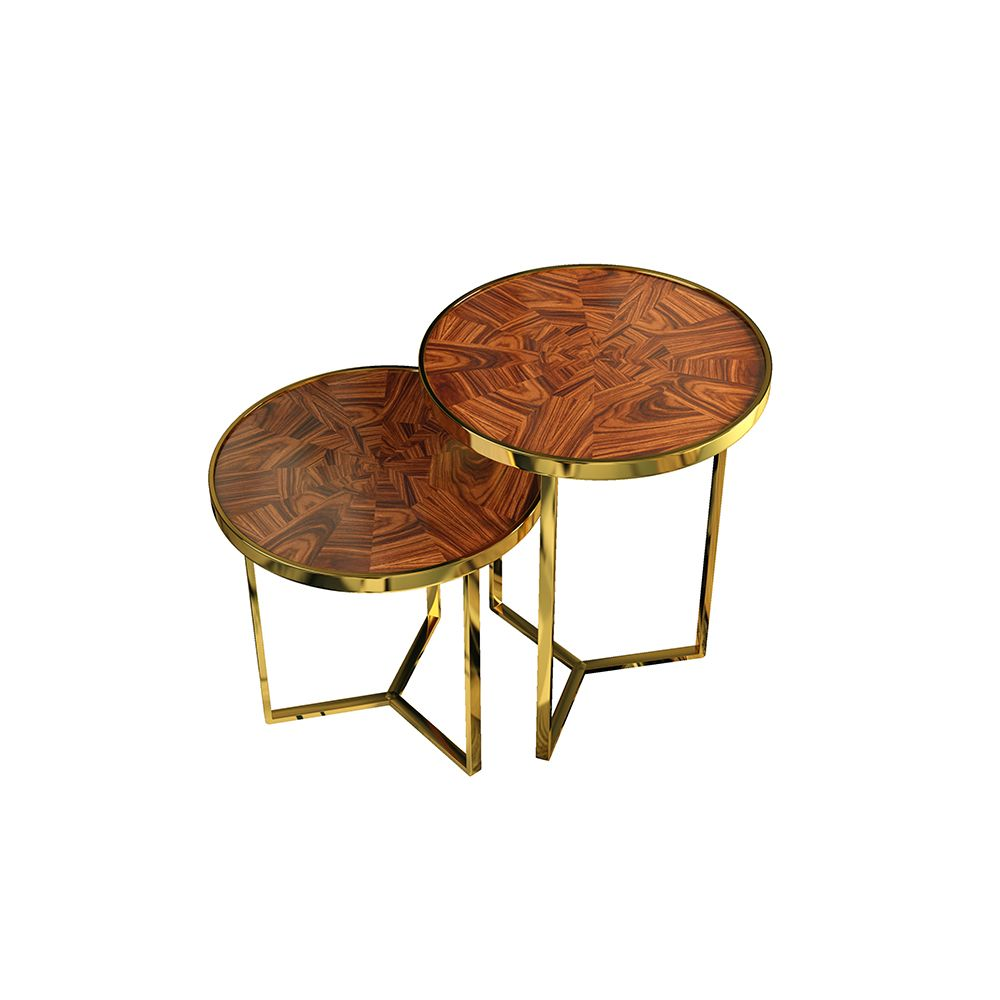 Tarsia table set marquetry tarsia side table set combines marquetry one of the most remarkable antique inlay geotapseo Image collections