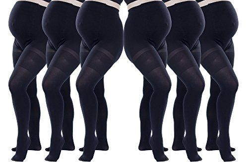 7be8e098dec0f 6 Pack of Felicity Opaque Maternity Tights SM Black Brand Name Felicity *  You can find out more details at the link of the image.Note:It is affiliate  link ...