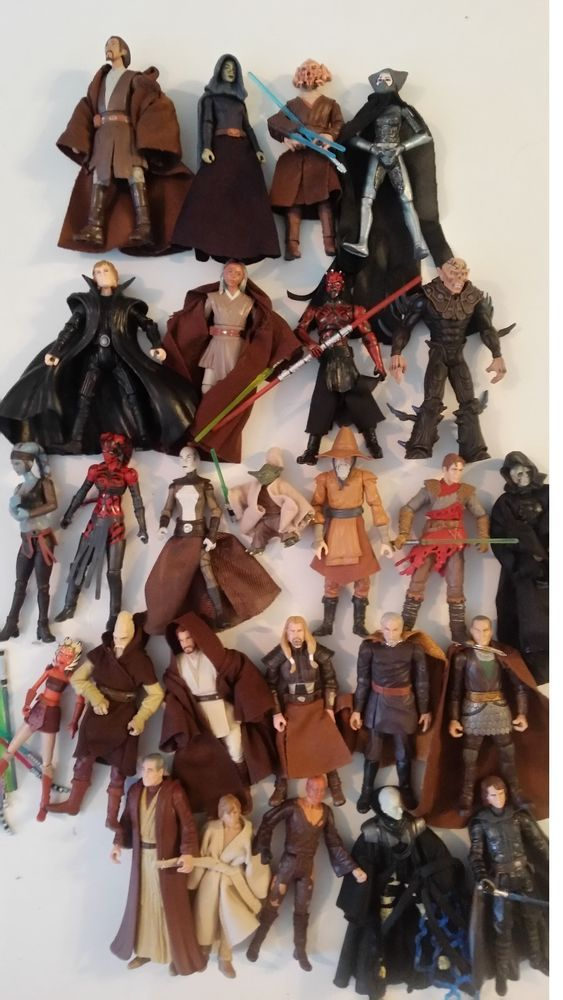 Star Wars Lot. Jedi and Sith Huge Lot