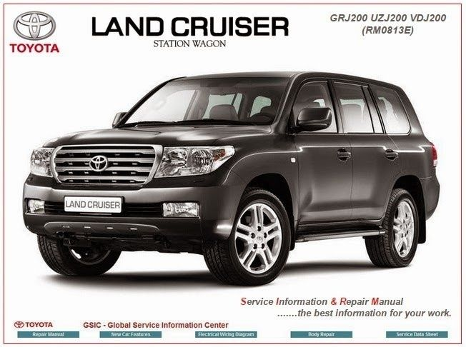 Land Cruiser 200 Electrical Wiring Diagram 2008 Mitsubishi Lancer Gts Toyota Sw Gsic Workshop Manual Repair Service