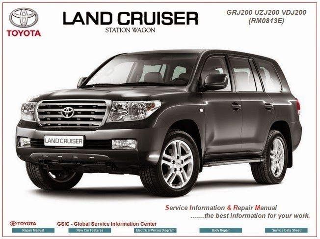 toyota land cruiser sw gsic workshop manual toyota repair service rh pinterest com Toyota Land Cruiser Prado 2018 Toyota Land Cruiser Prado VX