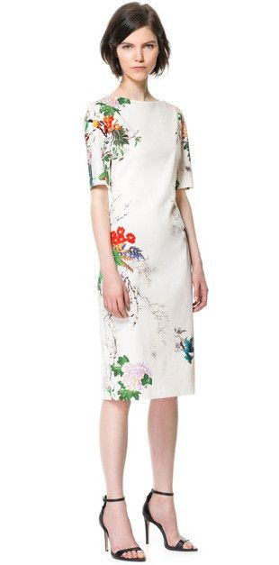 Tried on and was GORGEOUS just didnt have it in my size:( They do on here though...i know how my next paycheck is getting spent! Floral Midi Dress