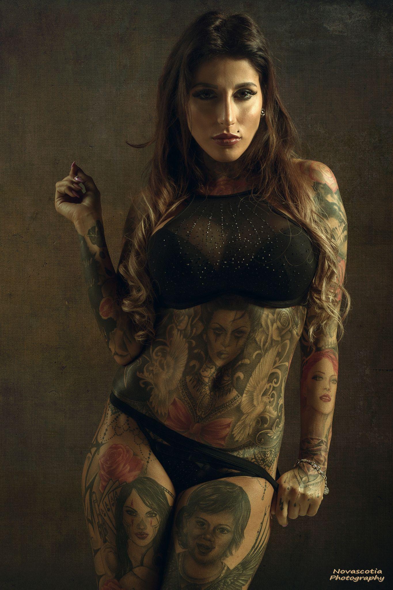 9d0d4e7fd Tattoo - Model: JJJenny | Colour vibes | Girl tattoos, Body art ...