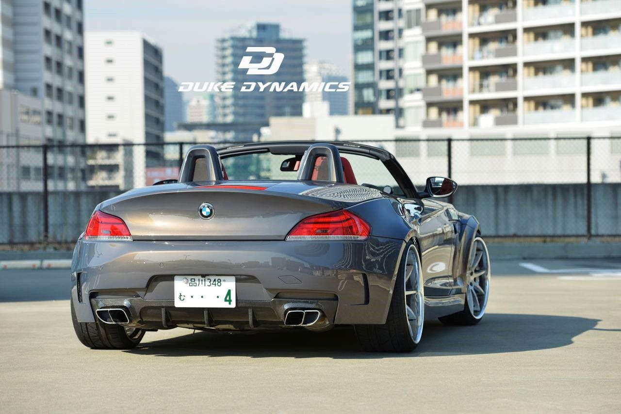 duke dynamics bmw z4 e89 wide body roadster z4. Black Bedroom Furniture Sets. Home Design Ideas