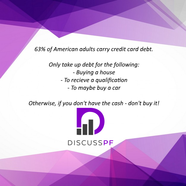 Credit Card Debt Is A Bad Thing To Get Into. Read My