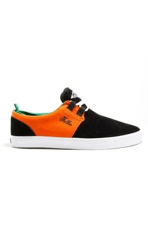 37a57b18a4ada Fallen Shoes Mens Capitol Shoe Black Hazard Orange #fallenshoes ...