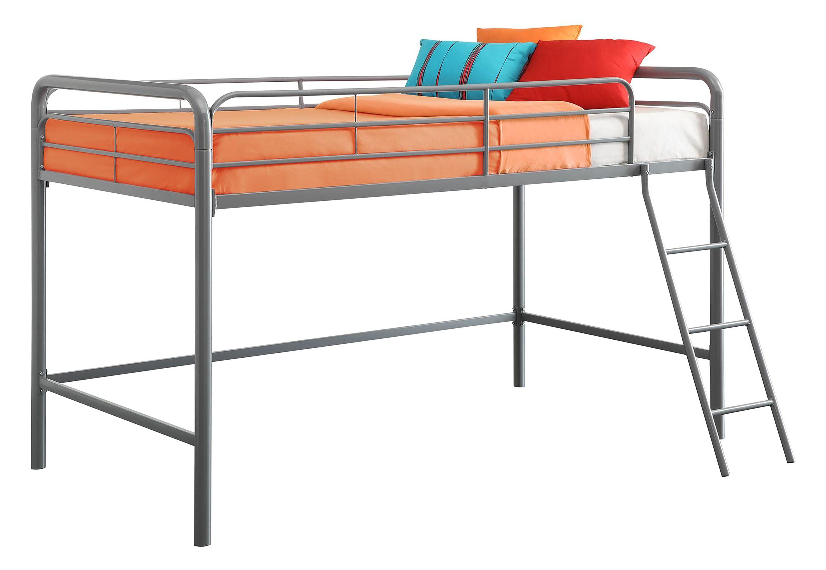 Kids Junior Twin Metal Loft Bed Ashley Furniture Homestore Junior Loft Beds Loft Bed Frame Kids Loft Beds