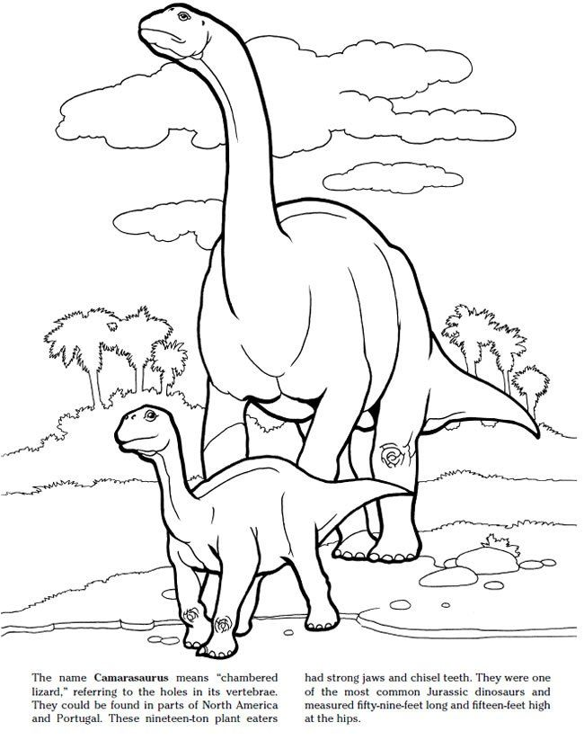 Jurassic Dinosaurs Coloring Pages Print And Color News Great