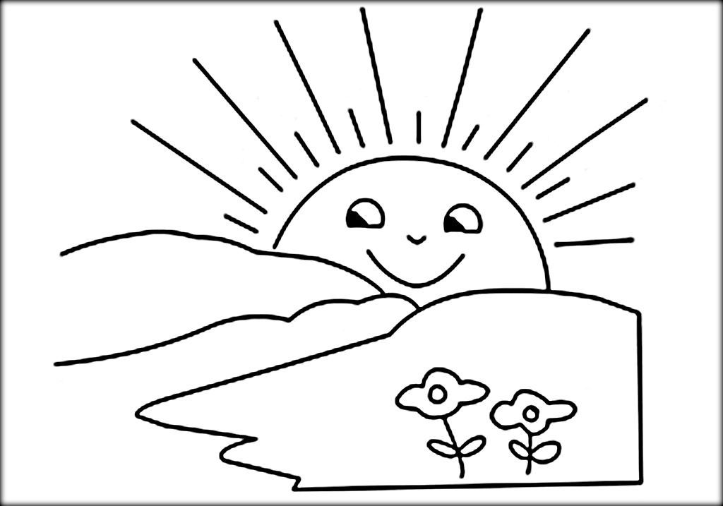 Free Sun Clipart Black And White Pictures Clipartix Mandala Coloring Pages Sun Coloring Pages Sunrise Drawing