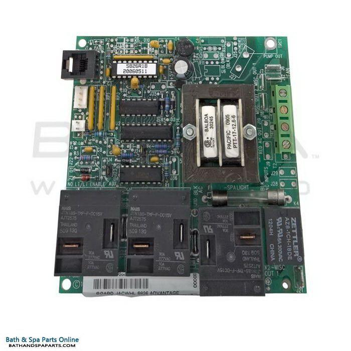 Balboa Circuit Board - Jacuzzi Whirlpool [S826 Advantage] (52399)