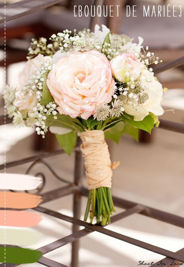 Bouquet Champetre Mariage Un Mariage Romantique Reflets
