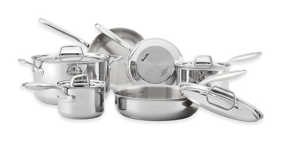 Win a Breville Thermal Pro Clad Cookware Set