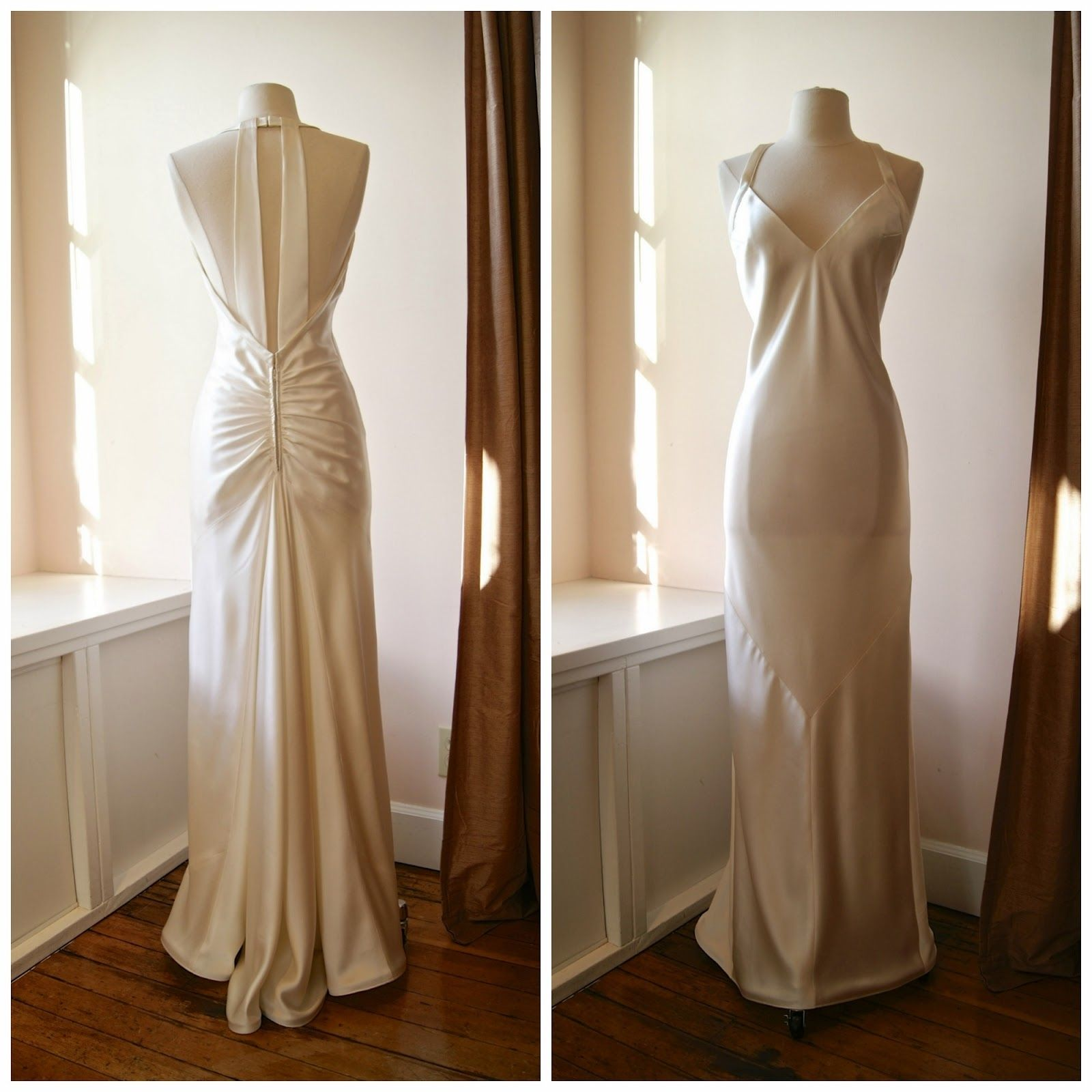 1930 wedding dress  Vintage  Wedding Dress Patterns  Wedding Dress  Pinterest