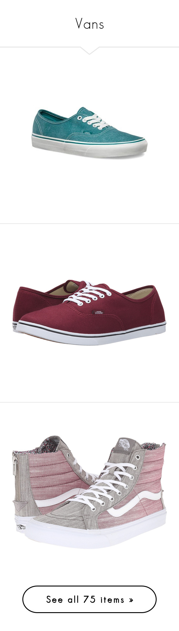 """""""Vans"""" by paukar ❤ liked on Polyvore featuring shoes, sneakers, vans, casual footwear, casual shoes, turquoise, vans sneakers, laced sneakers, low top and teal shoes"""