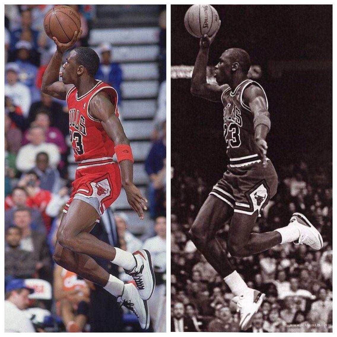 Michael Jordan 1987 vs 1988