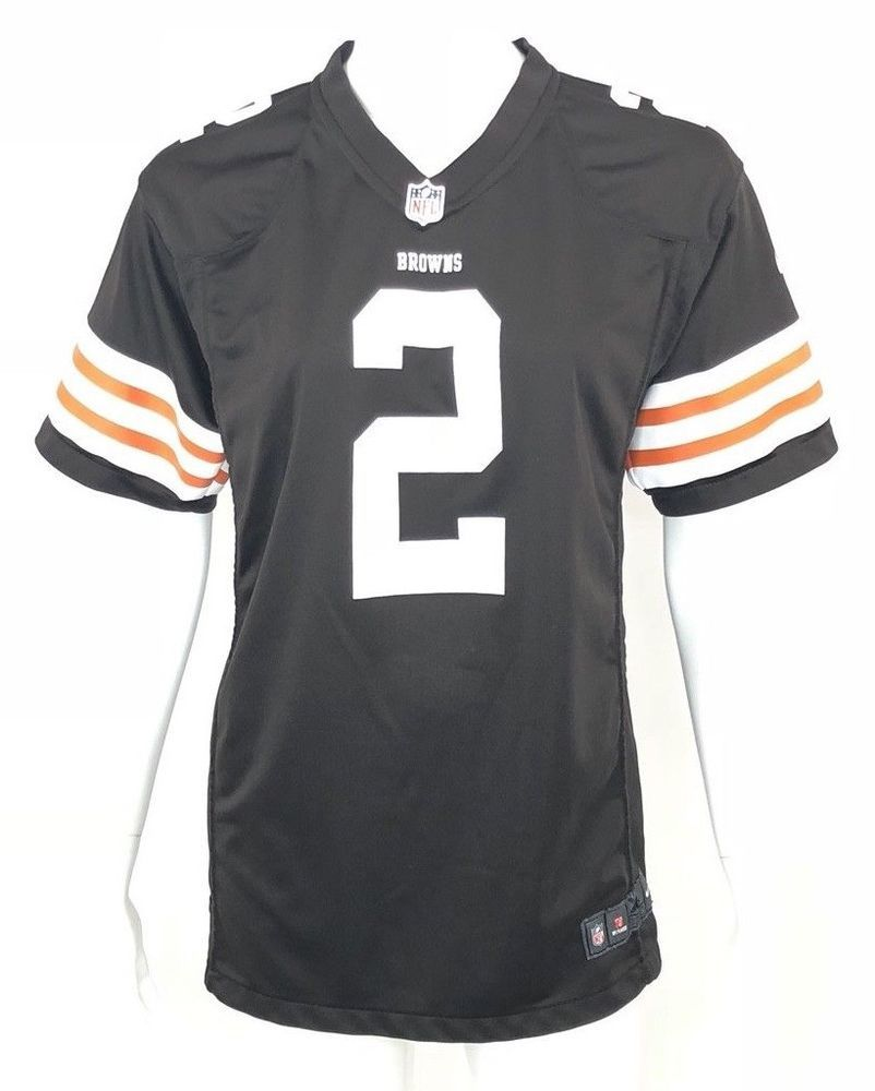 Nike Womens NFL Johnny Manziel Cleveland Browns  2 Jersey Brown Size XL    16.99 End Date  Wednesday Nov-28-2018 7 12 06 PST Buy It Now for… 1f6e5b6060