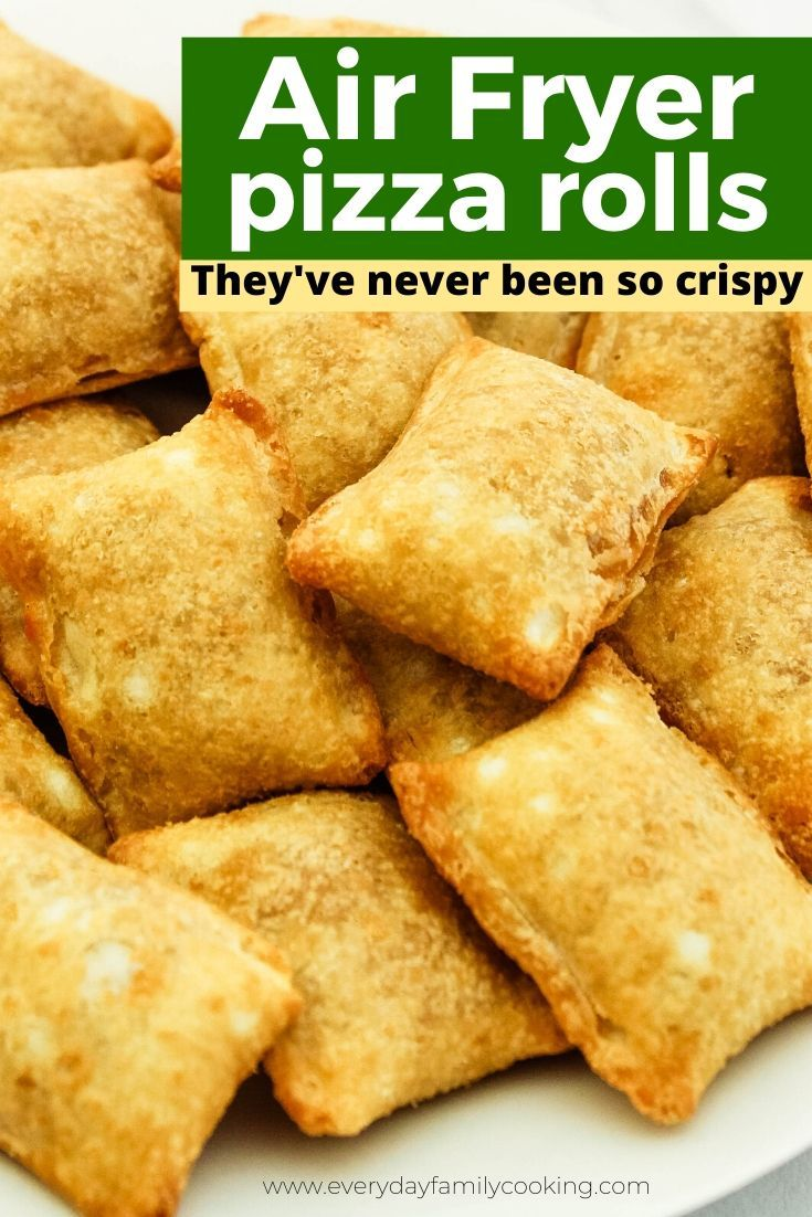 How to Make Air Fryer Pizza Rolls in 2020 Pizza rolls