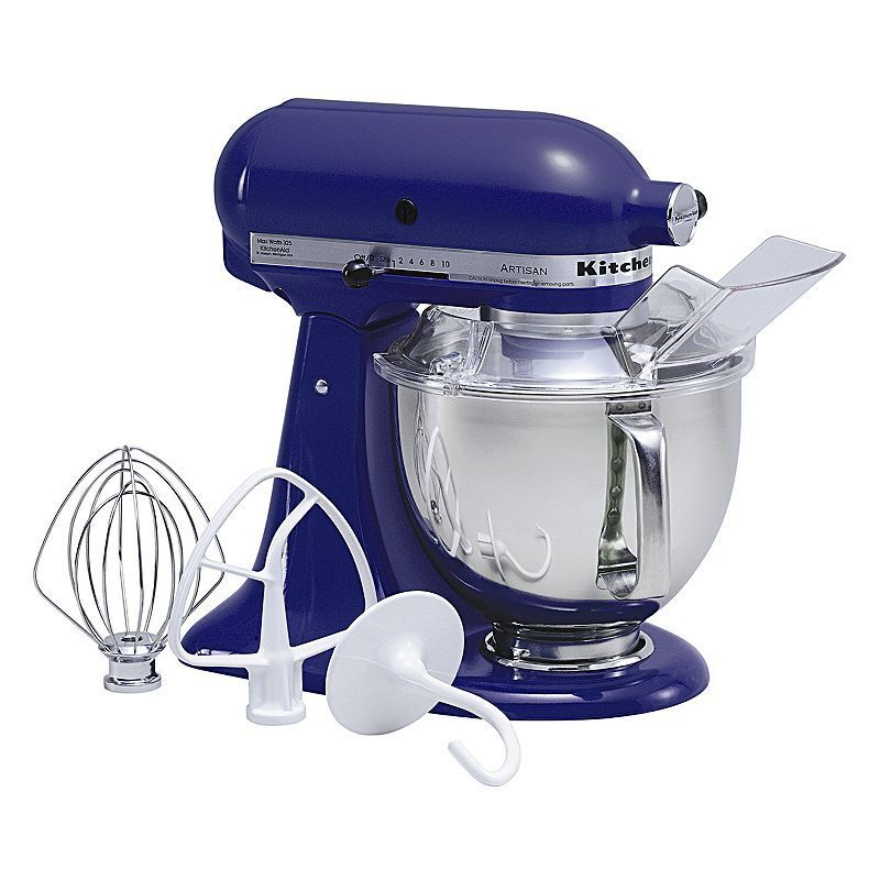KitchenAid KSM150PS Artisan 5-qt. Stand Mixer, Blue