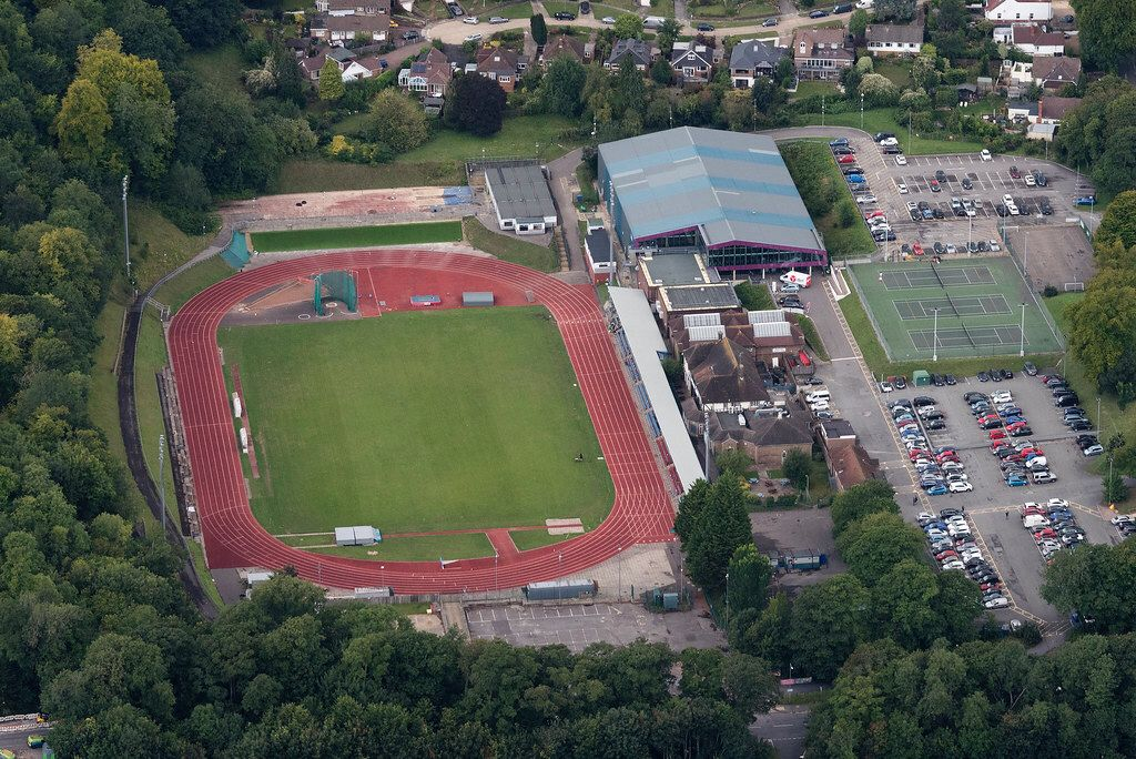 Withdean Sports Complex Brighton Aerial Image Sports Complex
