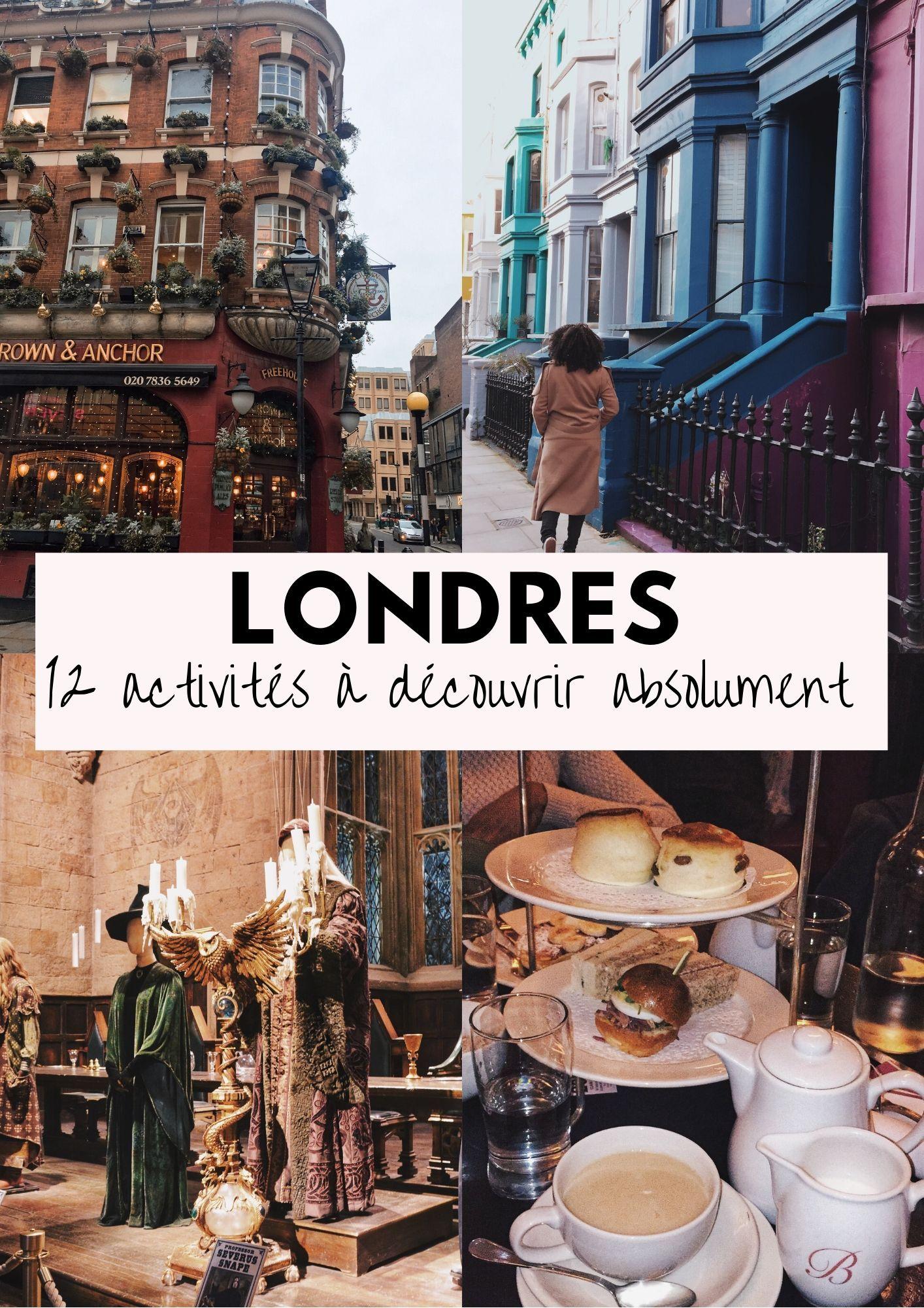 Londres : 12 activités à faire absolument !