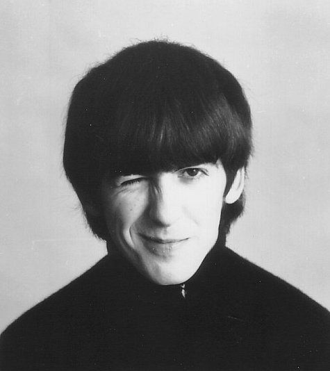 Young George Harrison Beatles