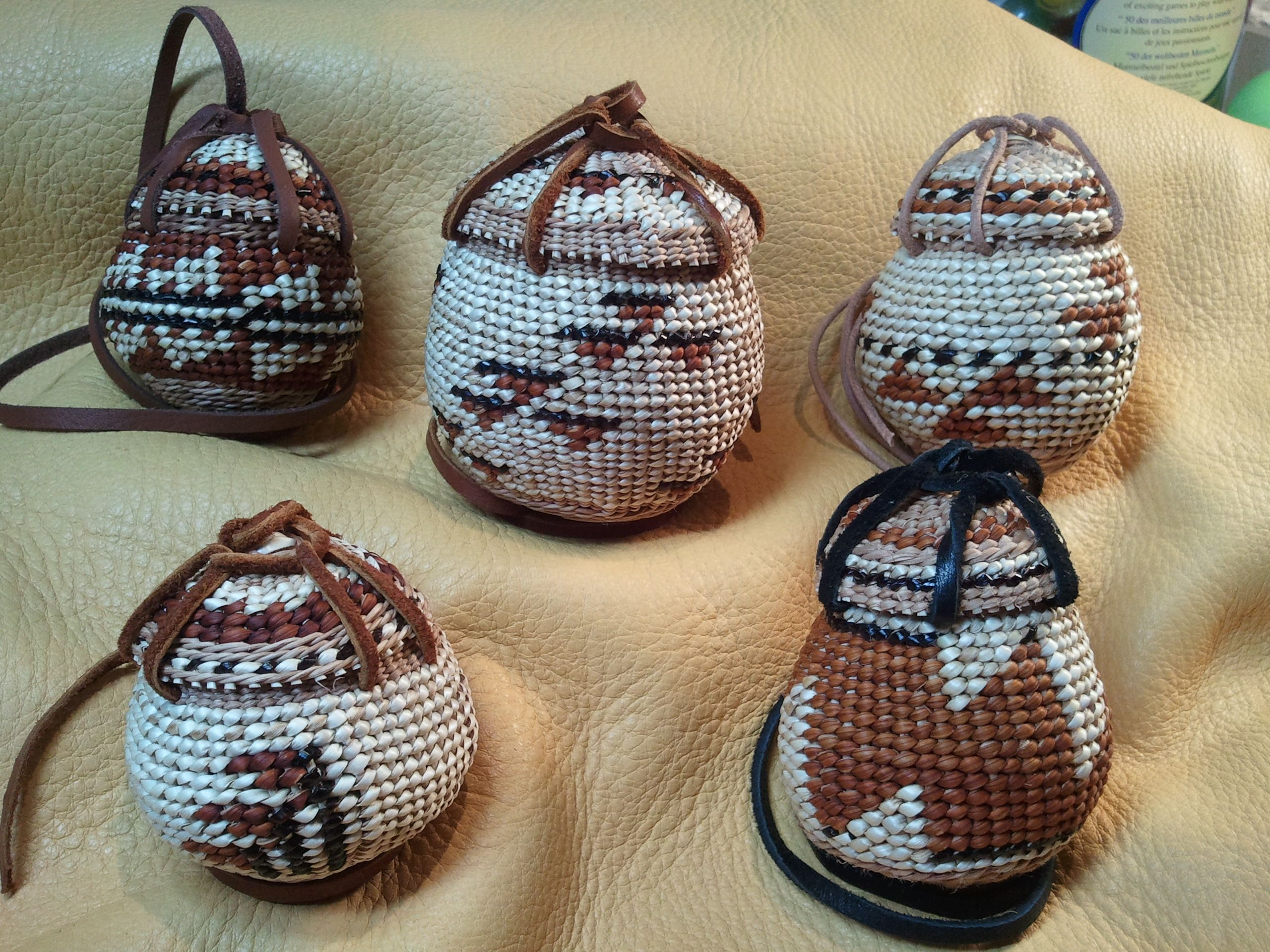 Assorted Tobacco Baskets
