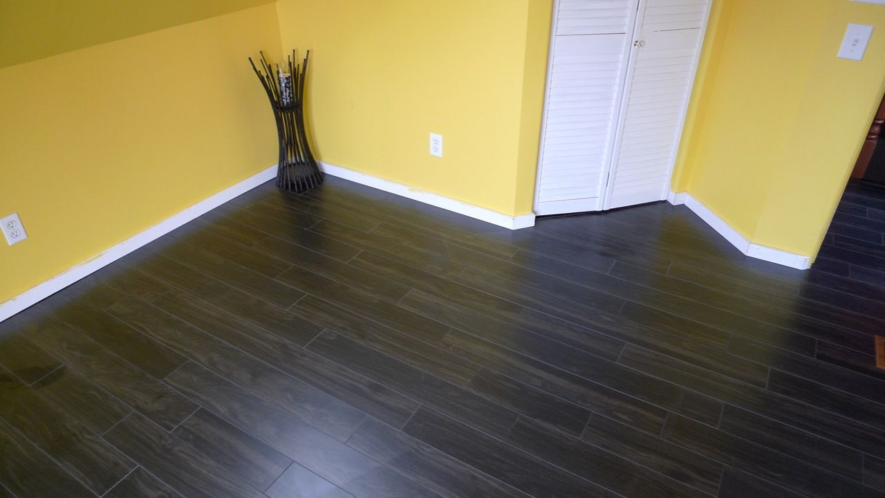 Flooring Tip: Dark floors when installed tend to look lighter than ...