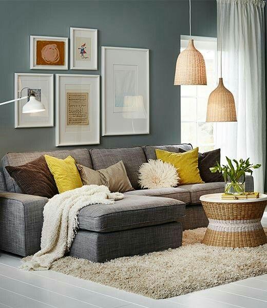 Ikea. Leuke bank en kleuren
