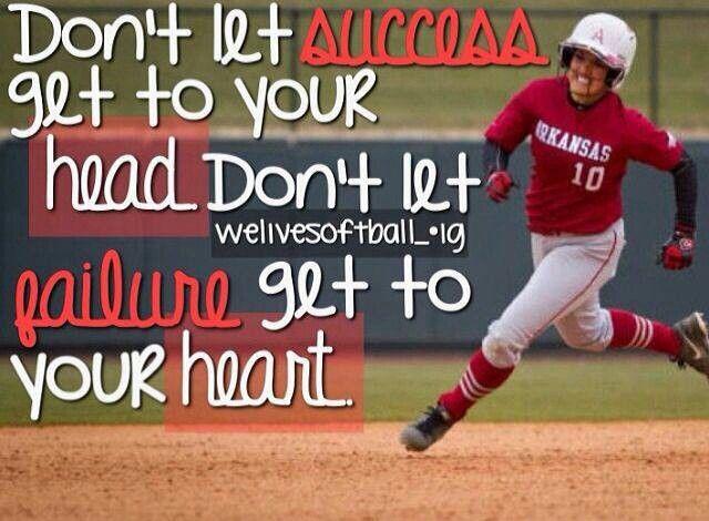 pics of softball sayings