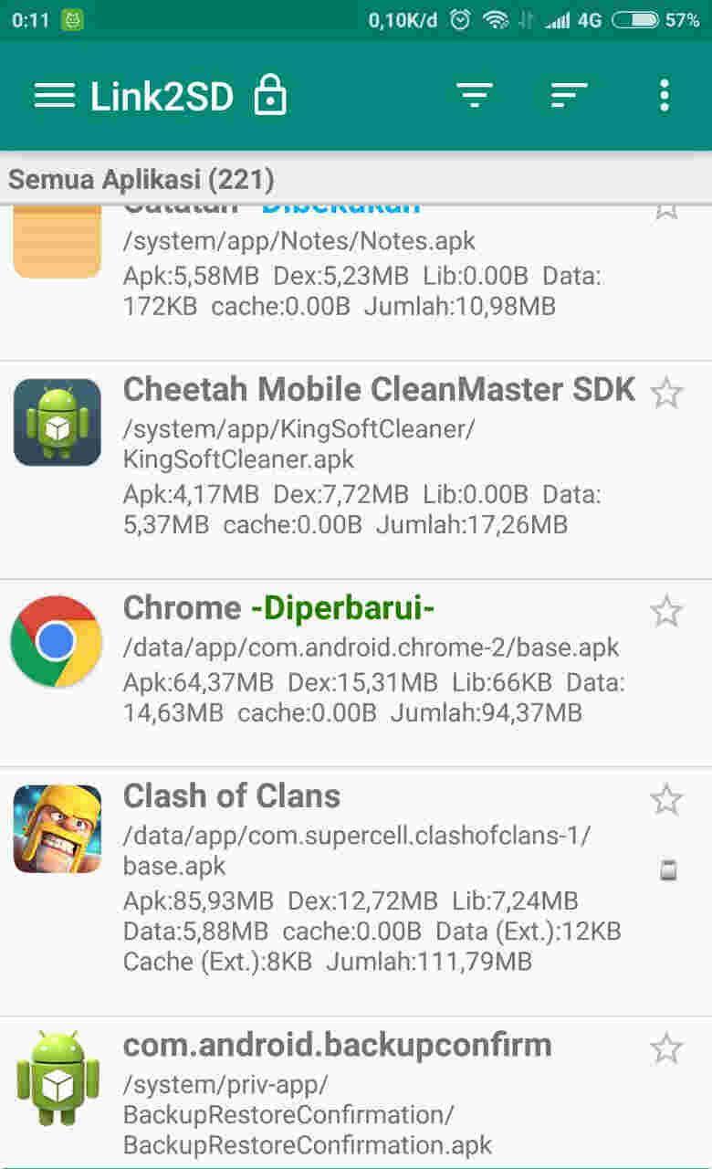 Begini Cara Menghapus Aplikasi Sistem Android Dengan Link2sd Androbuntu Aplikasi Android