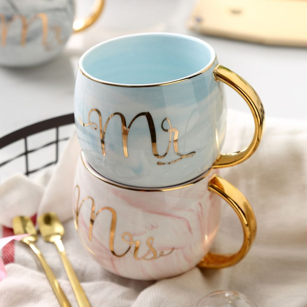 MUZITY Ceramic Coffee Mugs Creative Marble Design Tea Mugs Porcelain Breakfast Milk Mug #teamugs